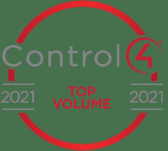 Control4 Top Dealer award 2021