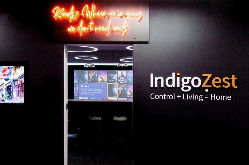 Home Cinema   IndigoZest   Smart Home   Home Automation Specialist   Control 4   Systems Integrator   Home Technology